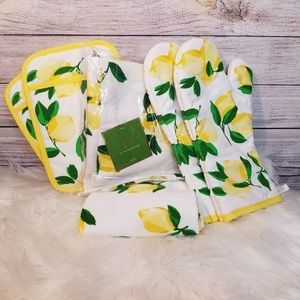 Kate Spade Make Lemonade Kitchen Set